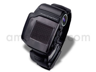 腕時計型プロジェクタ Wristwatch LED Image Projector (WLIP)